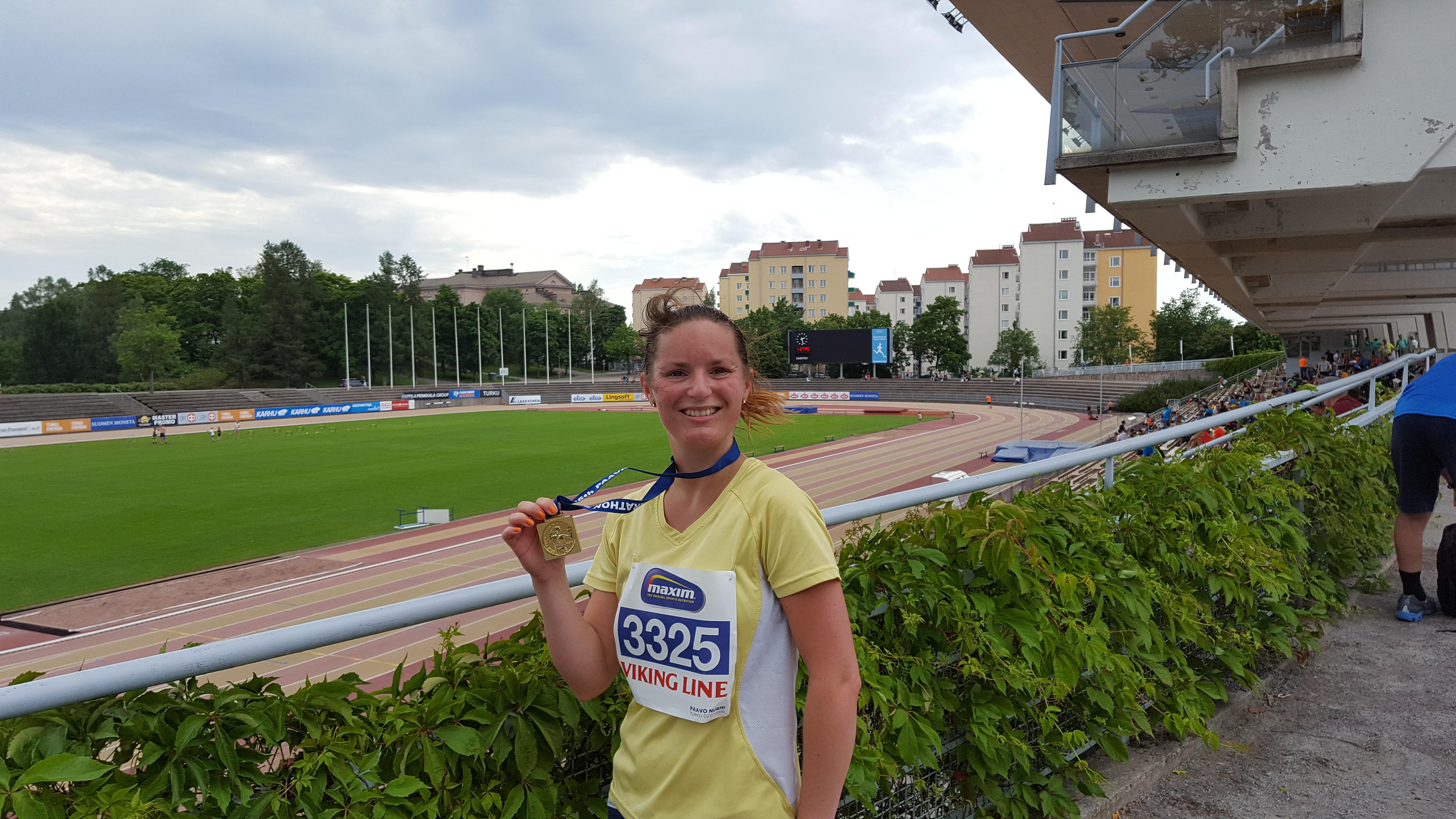 race report paavo nurmi halvmaraton 2016