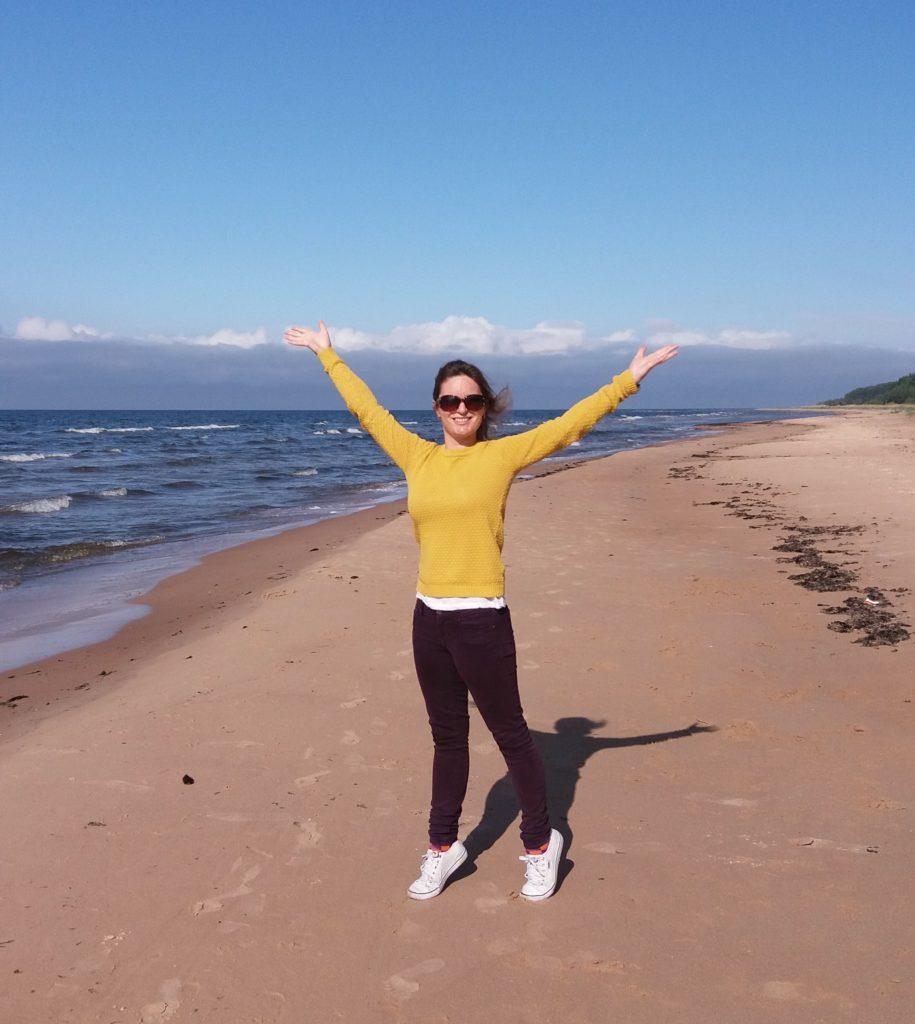 Vid kusten till Lettland