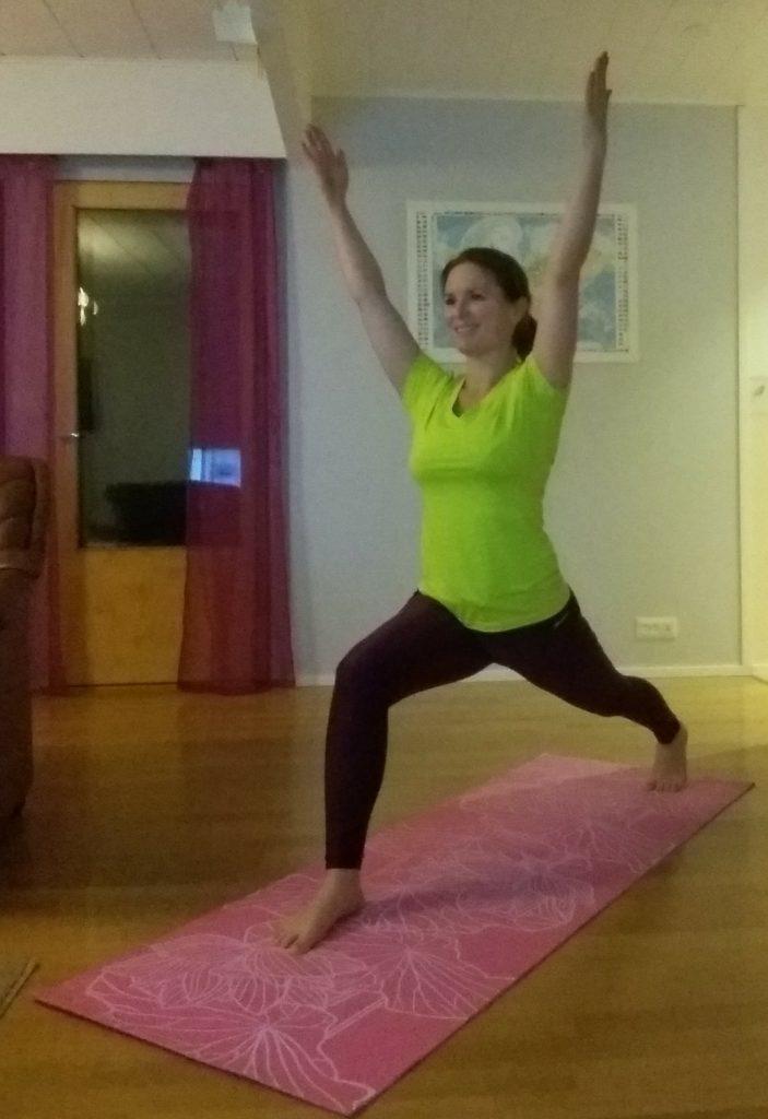 fuskat med yogan