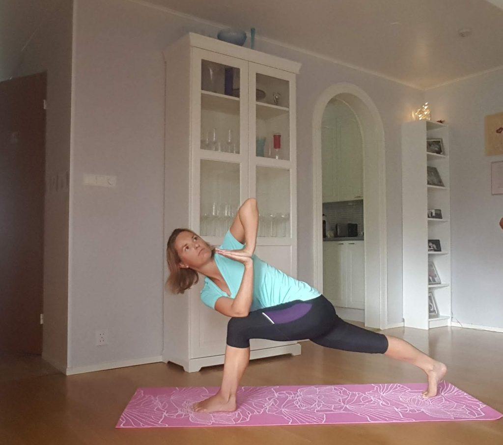 yogan hjälper vid löpning