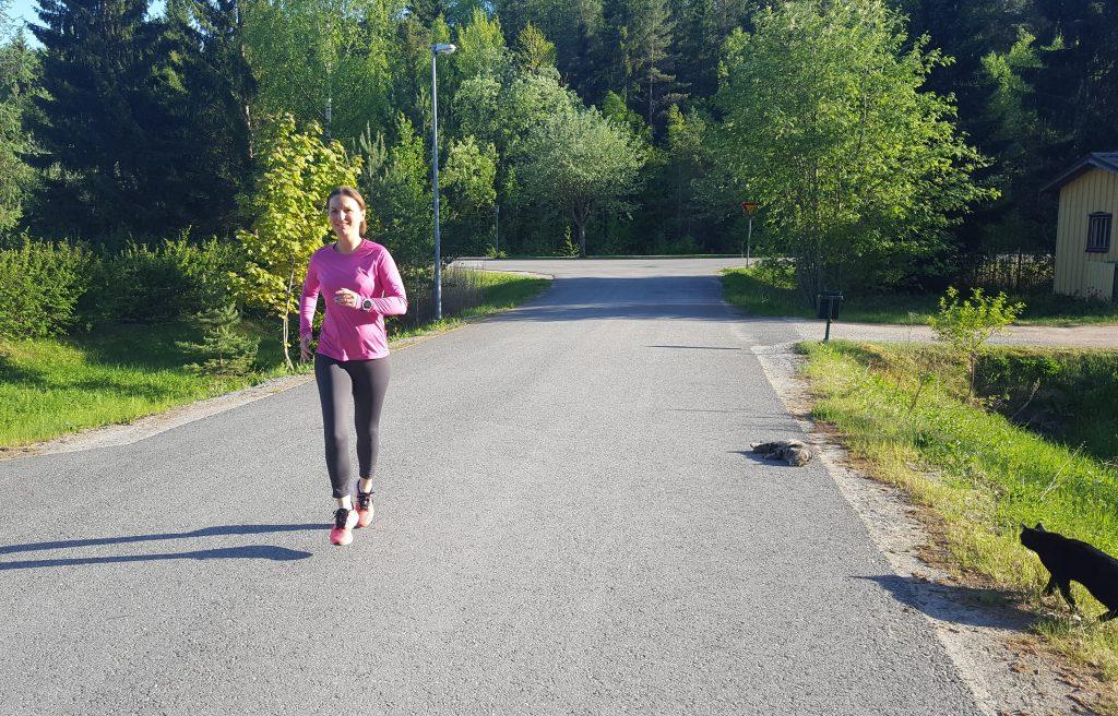 skavanker från löpning