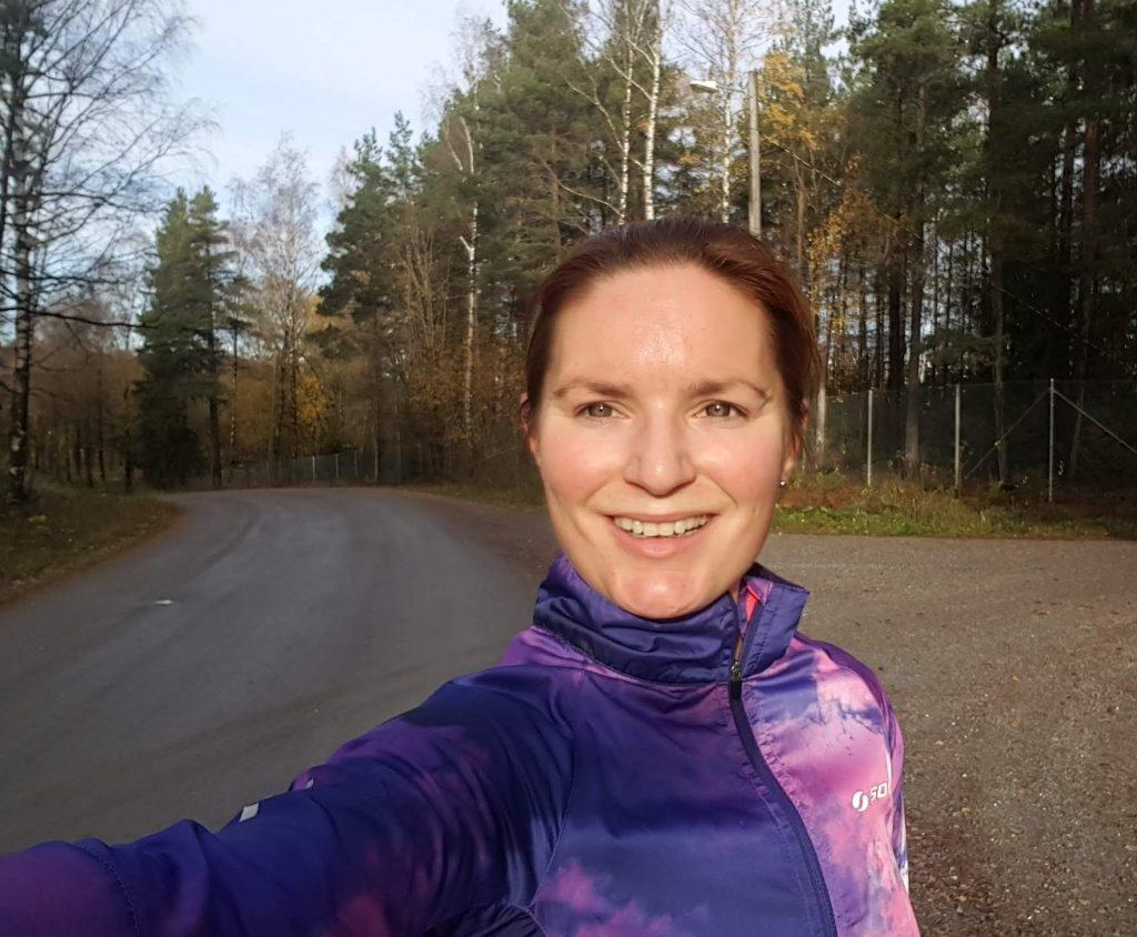 löpningen ger mig energi