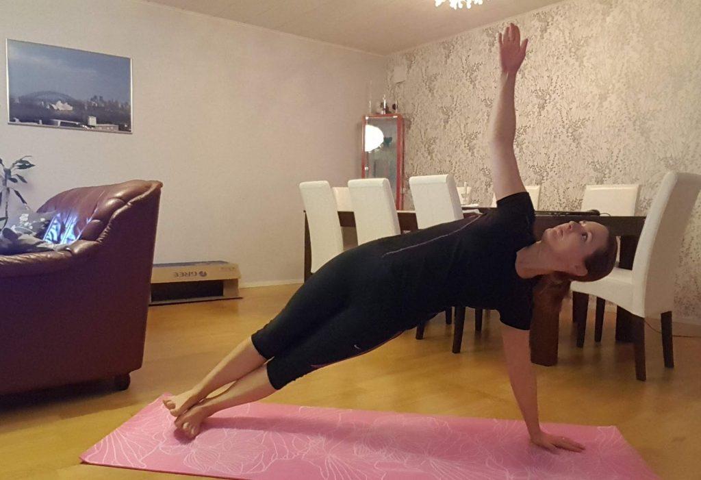 yoga och core
