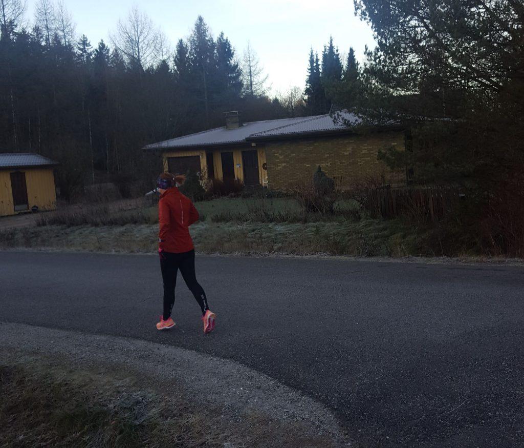 dagen då jag sprang tio kilometer