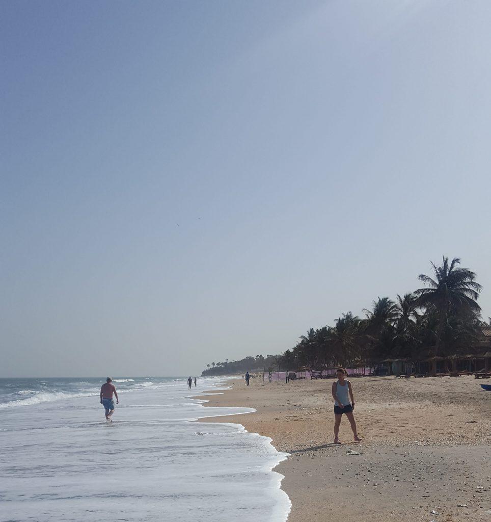 stranden i Gambia