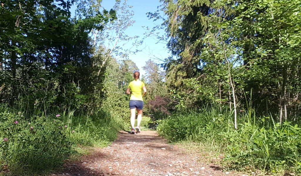sista tuffare passet innan halvmaraton