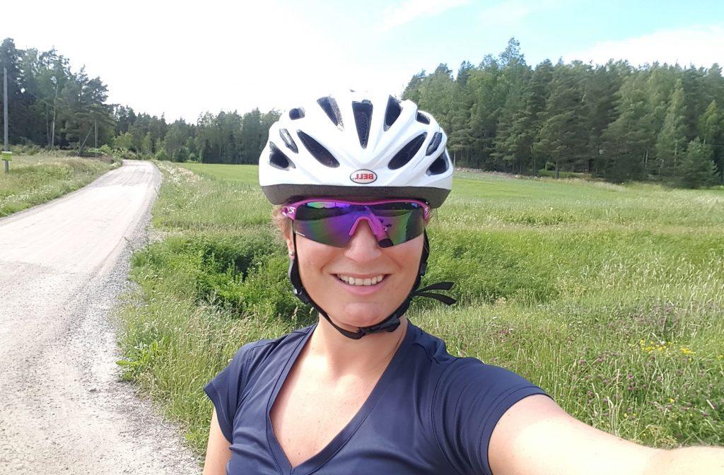 jag, en cyklist?