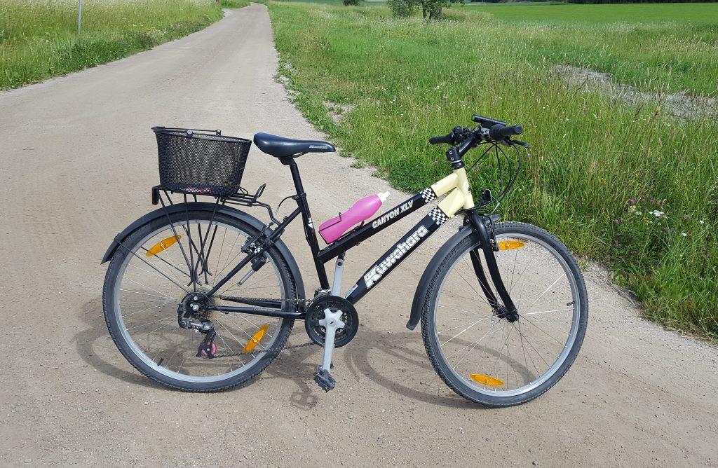 jag vill ha en landsvägscykel