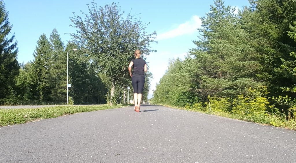 springa utan pulsklocka