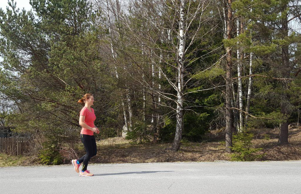 hur yogan hjälper vid löpning