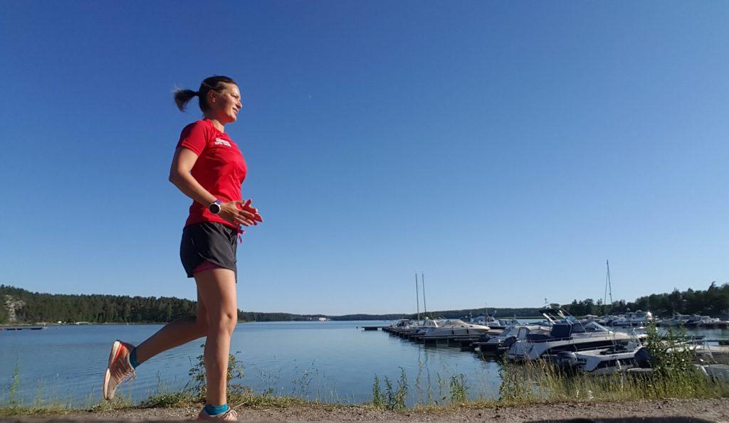springa innan frukost