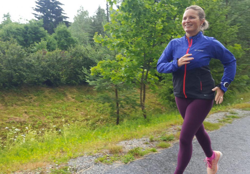 en mil löpning