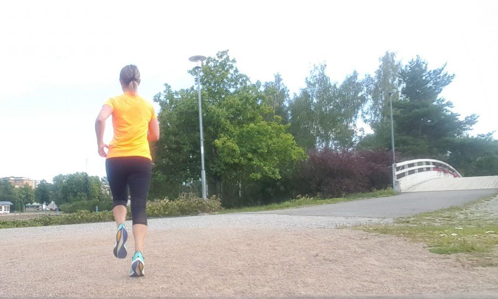 cykling och löpning
