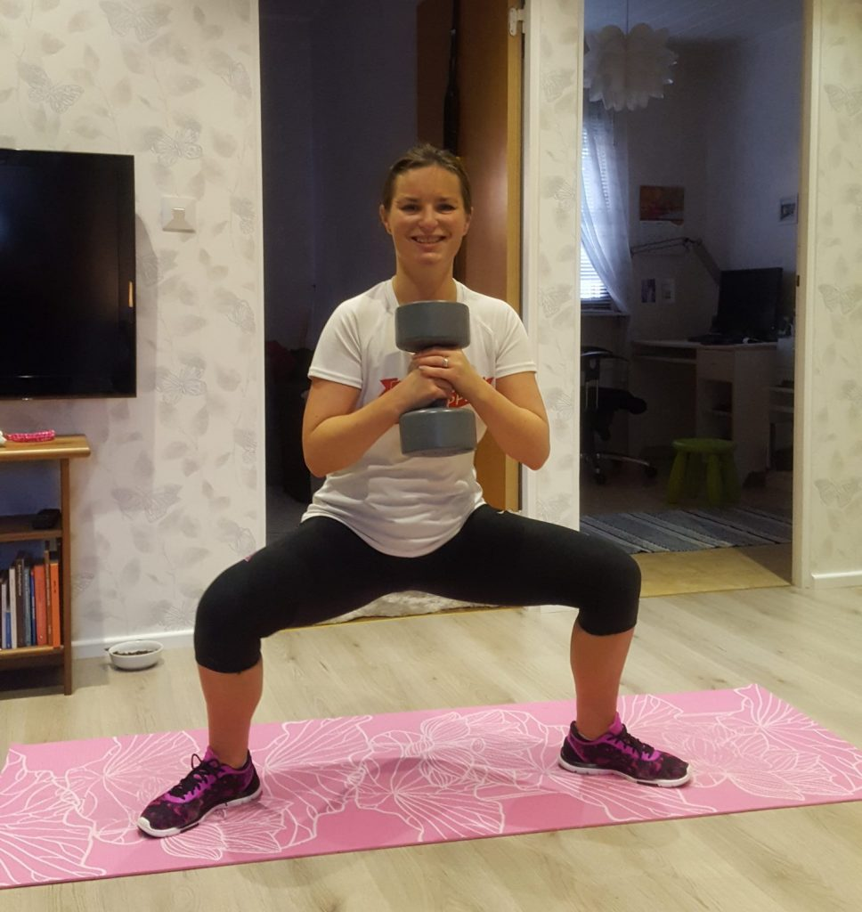 ny plan med styrketräningen