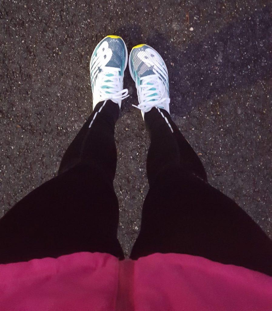 första passet i mina nya skor