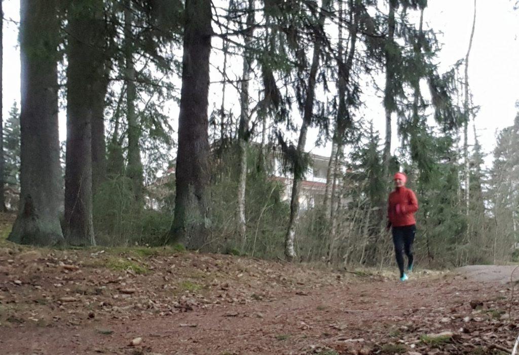 steppa upp löpningen