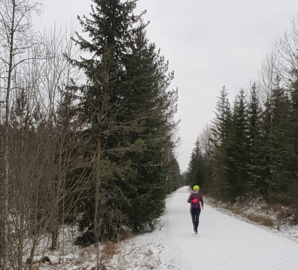 perfekta förhållanden för löpning