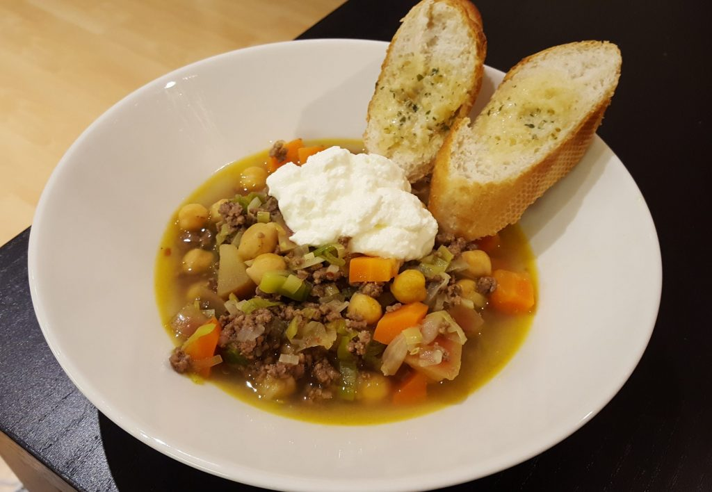 currygryta med köttfärs