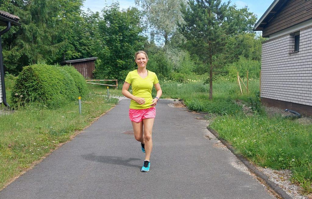 nio kilometer löparglädje