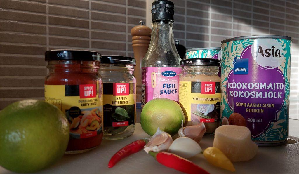 thaisoppa ingredienser