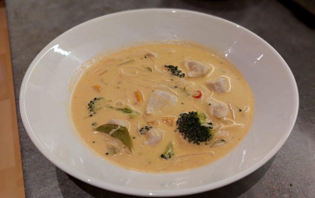 thaisoppa med kyckling