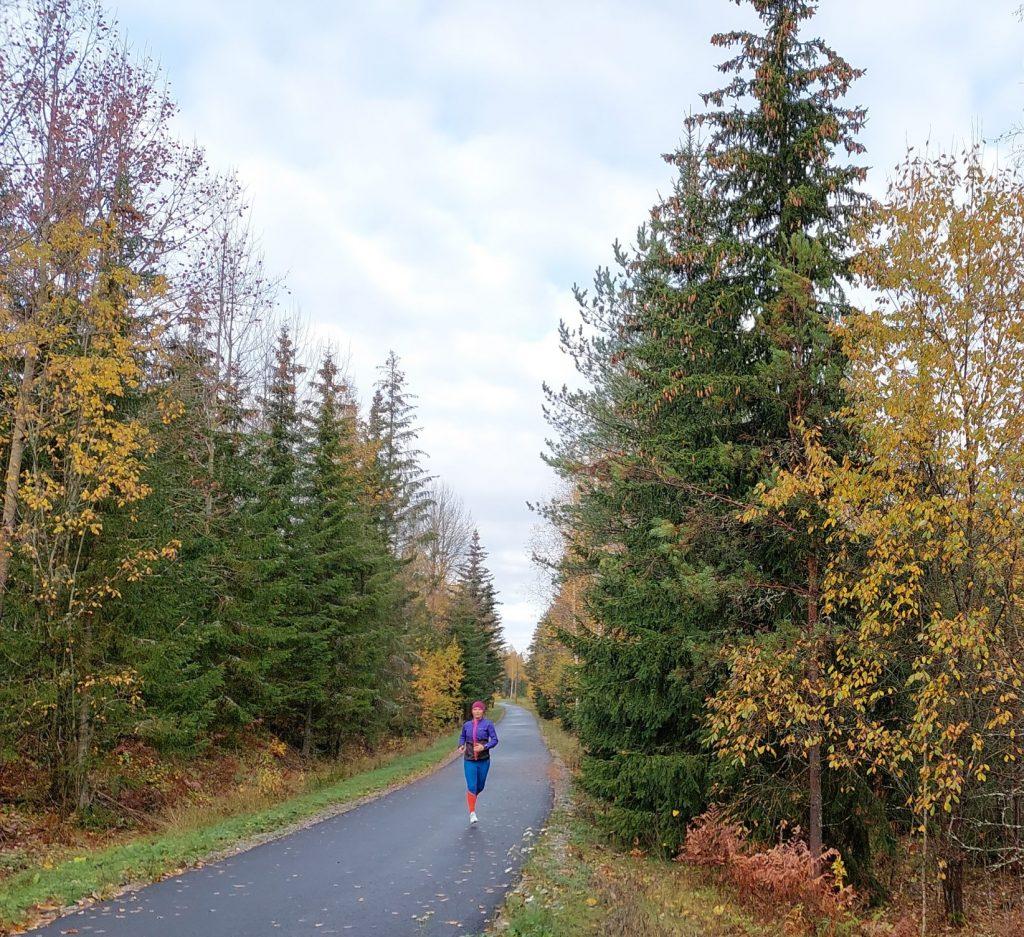 jag vill springa tjugo kilometer
